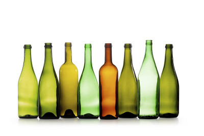 row of bottles